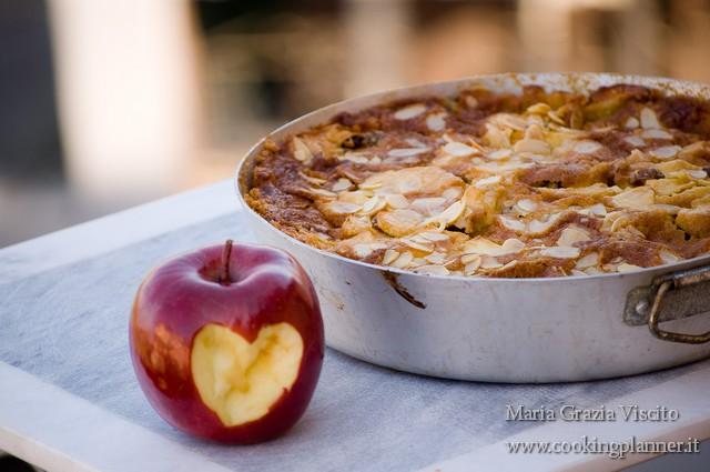 Torta di mele, enkir, rosmarino e zucchero di canna..
