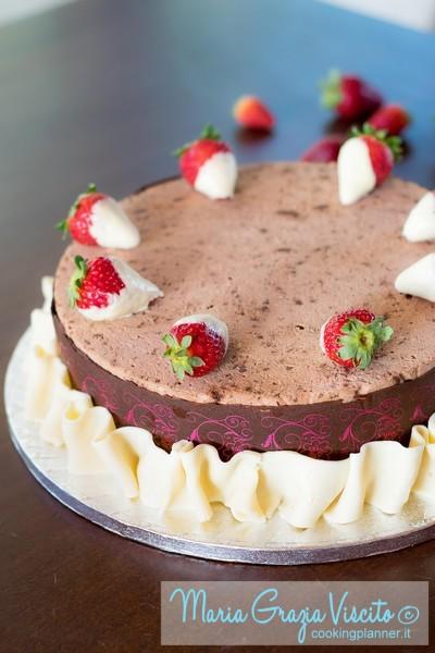 Trionfo di fragole e cioccolato