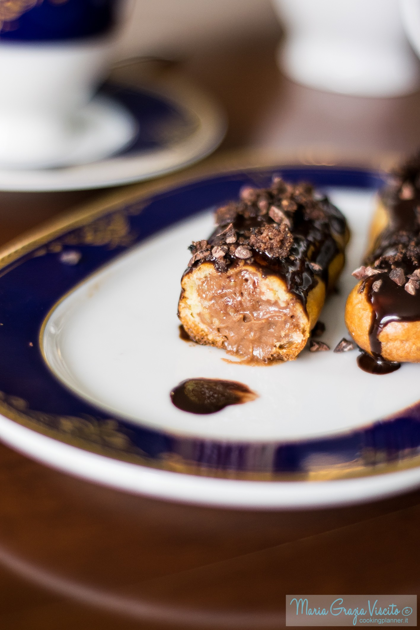 Eclair au chocolat grand crue di Chris Adam