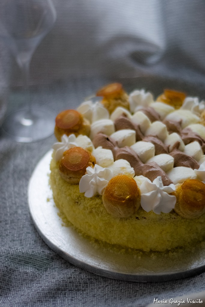 Le torte per le feste il saint honor all italiana di for Isola di saint honore caraibi