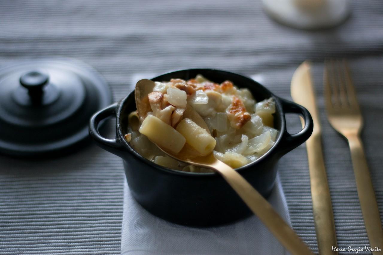 Soup a l'oignon rivisitata