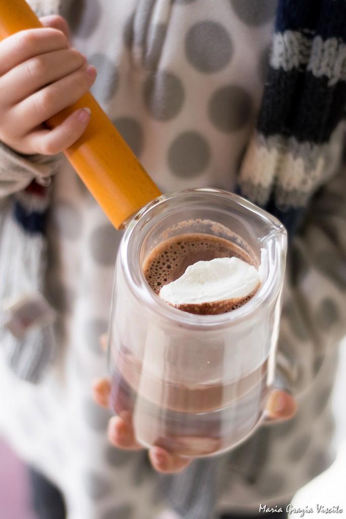 La cioccolata calda di Philippe Conticini (da Sensation)
