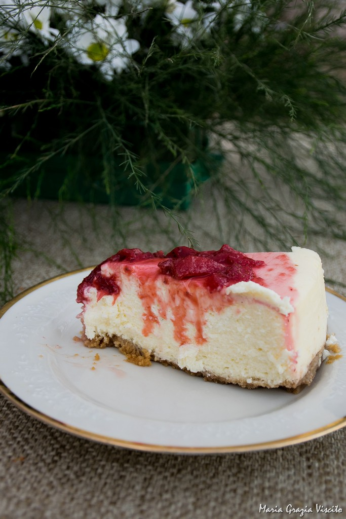 New York style Cheesecake di Martha Stewart