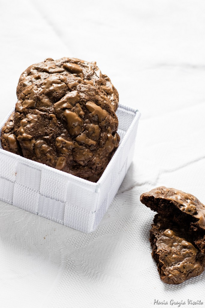 Outrageouse chocolate cookies di Martha Stewart