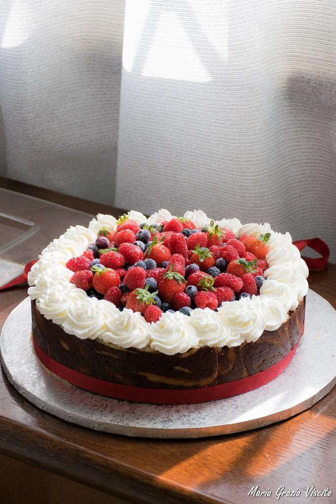 Popolare I dolci per le feste: la charlotte ai frutti di bosco di Iginio  UN09