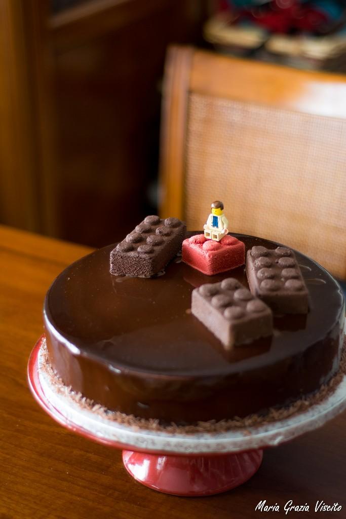 Torta A Specchio.La Glassa A Specchio Al Cioccolato Di Antonio Bachour